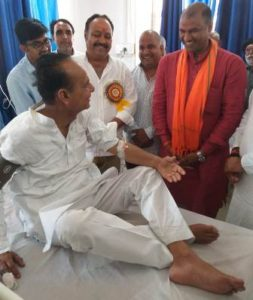 gopal singh idwa became infant during social shobhayatra